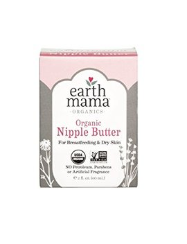 Earth Mama Organic Nipple Butter For Breastfeeding And Dry Skin, 2 Ounce by Amazon