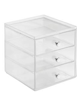 Inter Design Plastic Storage Chest, 3 Drawer by Interdesign