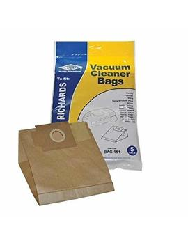 Electruepart Bag151 Morphy Richards Vacuum Cleaner Dust Paper Bag 5 Pack by Morphy Richards