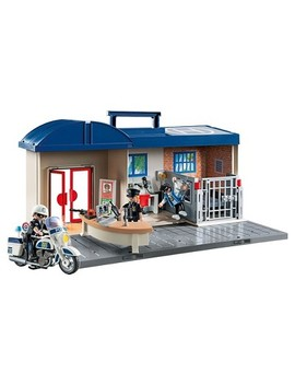 Playmobil Take Along Police Station by Playmobil