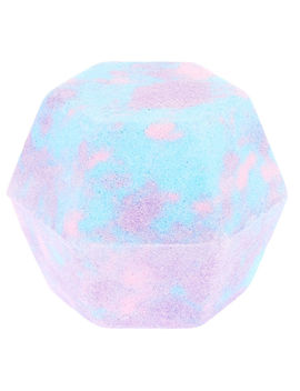 Lilac & Blue Stargaze Hexagon Bath Bomb by Claire's