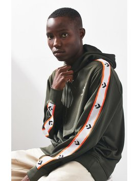 Converse Star Chevron Track Stripe Pullover Hoodie by Pacsun