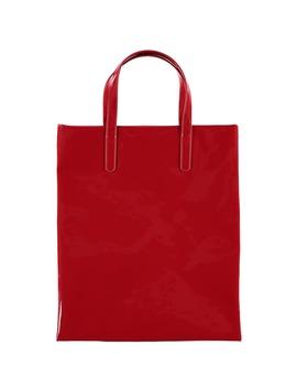 Faux Patent Leather Tote by Forever 21