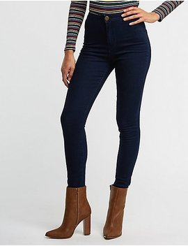 Hi Rise Skinny Jeans by Charlotte Russe