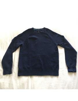 J Crew Navy Lambswool Crewneck Sweater by J. Crew