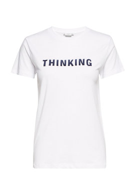 Organic Cotton Message T Shirt by Mango