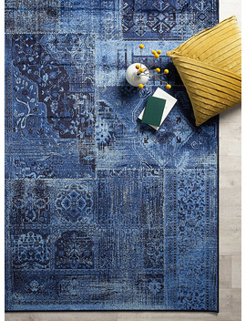 Nocturnal Patchwork Rug by Simons Maison