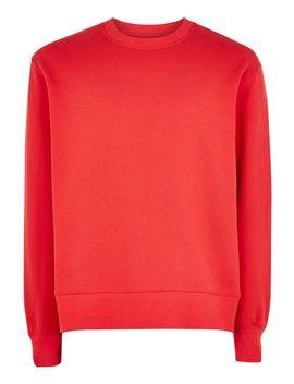 Red Classic Sweatshirt by Topman