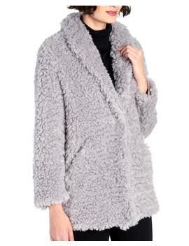 Faux Fur Shawl Collar Jacket Faux Fur Shawl Collar Jacket by Ellen Tracy Ellen Tracy