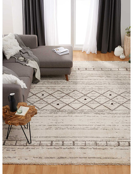 Graphic Boho Rug by Simons Maison