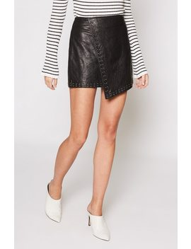 Orlanda Leather Skirt by Joie