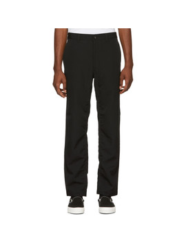 Black Wool Trousers by Comme Des GarÇons Homme