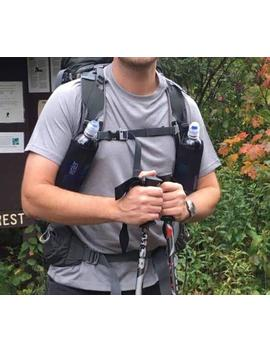 Justin's Ul Backpacking Shoulder Strap Water Bottle Carriers Ul Hiking Camping Ultralight Backpa by Etsy