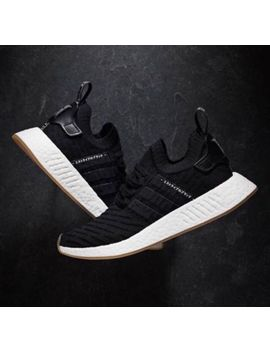 Adidas Originals Nmd R2 Primeknit Pk Black Gum White Japan Pack By9696 Mens Sz 4 by Adidas