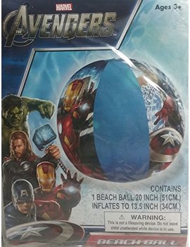 Marvel Avengers Pool Beach Ball by What Kids Want! Inc..