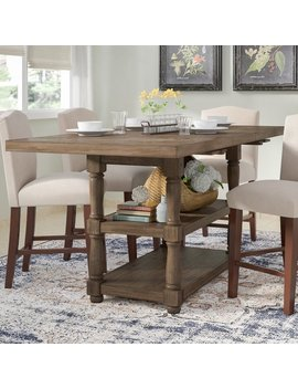 Laurel Foundry Modern Farmhouse Fortunat Counter Height Extendable Dining Table & Reviews by Laurel Foundry Modern Farmhouse
