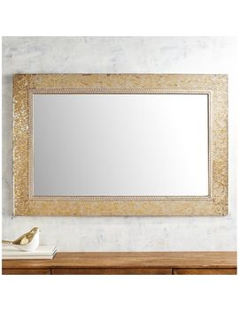 Golden Mosaic Mirror by Pier1 Imports