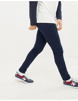 Jack & Jones Skinny Jeans In Navy Coloured Denim by Jack & Jones