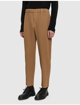 Pleated Weave Pant by Issey Miyake Homme Plissé