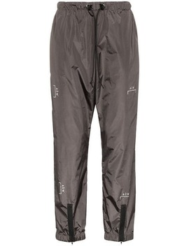 Logo Print Zipped Nylon Trousers by A Cold Wall*
