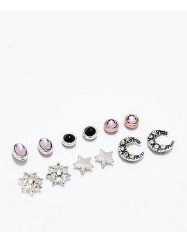 Stone + Locket Mystic Girl 6 Pack Earrings by Stone + Locket