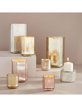 Deco Mercury Candleholders by West Elm
