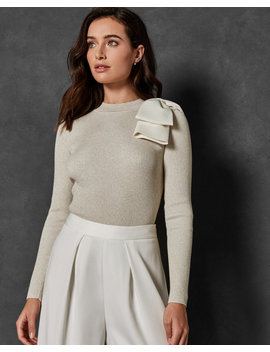 Statement Bow Jumper by Ted Baker