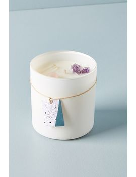 Well Done Crystal Candle by Well Done: Wellness By Anthropologie