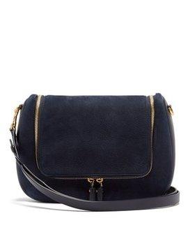 Vere Suede Shoulder Bag by Anya Hindmarch