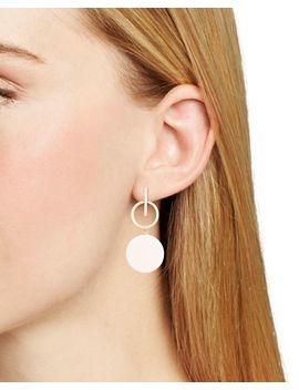 Geometric Resin Drop Earrings by Aqua