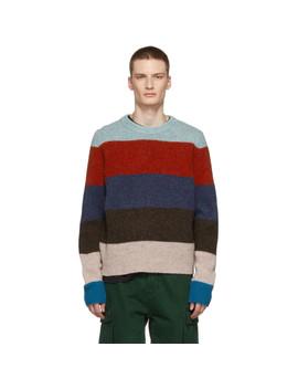 Multicolor Striped Kai Sweater by Acne Studios