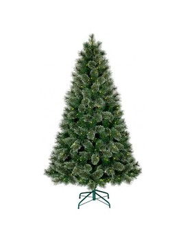 6ft Prelit Artificial Christmas Tree Virginia Pine Clear Lights   Wondershop™ by Wondershop™