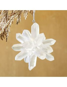 Iridescent Acrylic Gem Ornament by West Elm