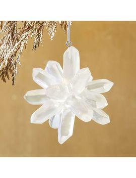 Iridescent Acrylic Gem Ornament by West Elm