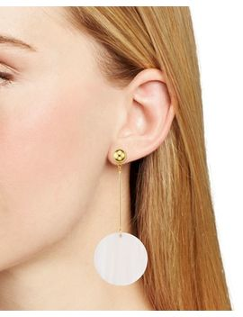 Circle Drop Earrings   100 Percents Exclusive by Aqua