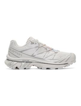 Grey S/Lab Xt 6 Softground Advanced Ltd Sneakers by Salomon