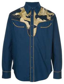 Embroidered Denim Jacket by Ports V