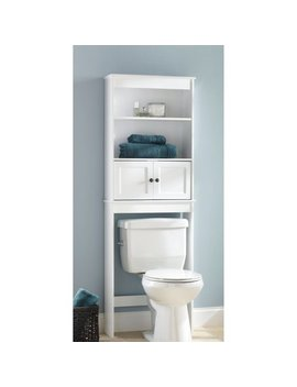 Chapter Bathroom Space Saver, White by Chapter