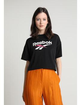 Cropeed Tee   Print T Shirt by Reebok Classic