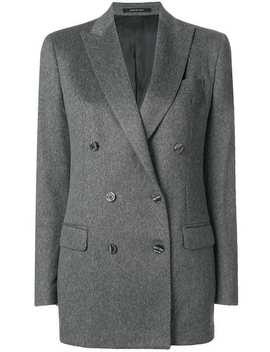 Cashmere Double Breasted Blazer by Tagliatore