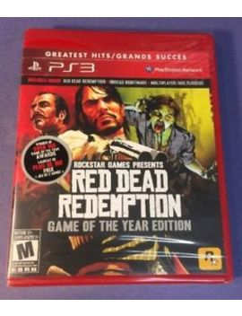 Red Dead Redemption  [ Game Of The Year Edition / Goty ] (Ps3) New by Ebay Seller