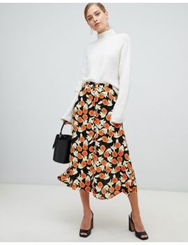 Whistles Dandelion Print Skirt by Whistles