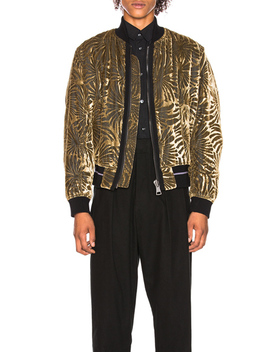 Reversible Bomber Jacket by Haider Ackermann
