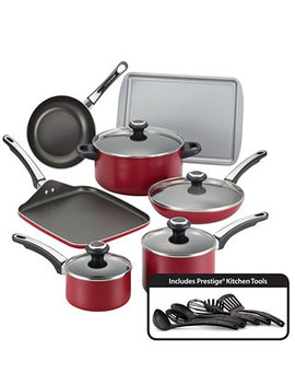17 Pc. Non Stick Aluminum Cookware Set by Farberware