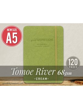 120 Pg Tomoe River Cream 68gsm Notebook   Xmas Gift   A5   Bullet Journal   Fountain Pen Friendly    Extra Durable Construction by Etsy
