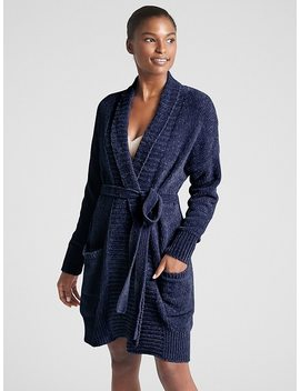 Chenille Robe Cardigan Sweater by Gap