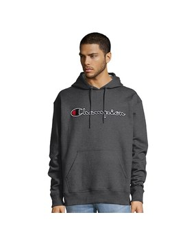 Men's Champion Script Logo Pull Over Hoodie by Kohl's