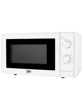 Beko Moc20100 W Solo Microwave, 20 Litre, 700 W, White by Beko