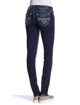 Topstitch Skinny Jeans by Rock Revival
