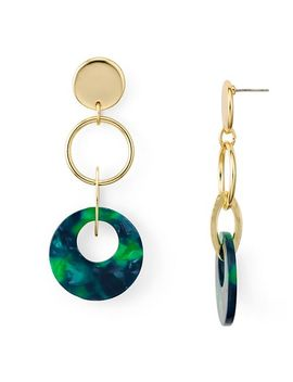 Multi Loop Drop Earrings   100 Percents Exclusive by Aqua